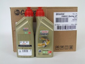 12 x CASTROL POWER 1 Racing Ultimate Performance 4T 10W-40