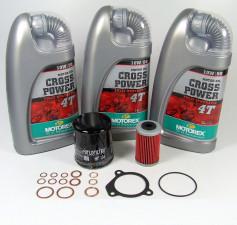KTM LC4 400 620 625 640 660 Service Wartung Ölwechsel Motorex 10W-50 KIT
