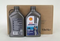 12 x Shell Advance 4T Ultra 10W-40 / 1 Liter