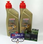 KTM 690 SM SMC R Duke bis 2012 Service Wartung Ölwechsel Castrol Racing 10W-50