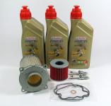 Suzuki GS 500 E Service Kit Ölwechsel Öl + Ölfilter + Luftfilter + Zündkerzen
