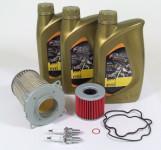 Suzuki GS 500 E Service Kit Ölwechsel Ölfilter Agip eni i-Ride 10W40
