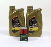 Suzuki DRZ 400 Service Wartung Ölwechsel Öl Ölfilter eni I-Ride Moto 10W-40