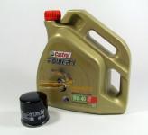 Suzuki GSX 600 650 750 1000 Service Wartung Ölwechsel Castrol Power1 10W-40