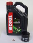 Honda Service Kit Wartung Ölwechsel Motul 5100 4T 10W-40 HF204
