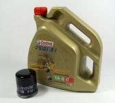 Kawasaki Service Kit Wartung Ölwechsel Castrol Power1 4T 10W-40 HF303