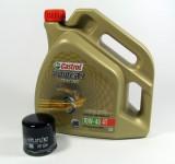 Kawasaki Service Kit Wartung Ölwechsel Castrol Power1 Racing 4T 10W40 HF204