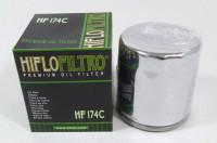 Hiflo Premium Ölfilter HF 174C Chrom